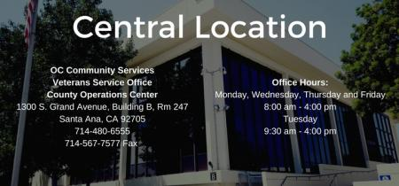 Central Location Info